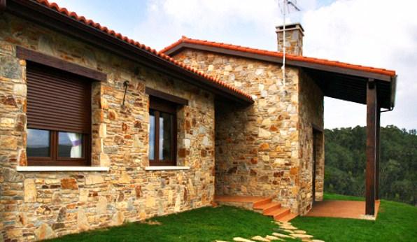 Ventanas san lorenzo for Casas modernas rusticas